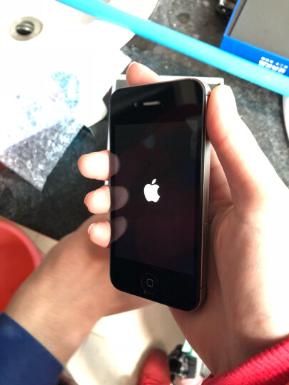 【二手9成新】Apple iPhone 4s手机 苹果4s手机 黑色 8G 联通3G+移动2G 晒单图
