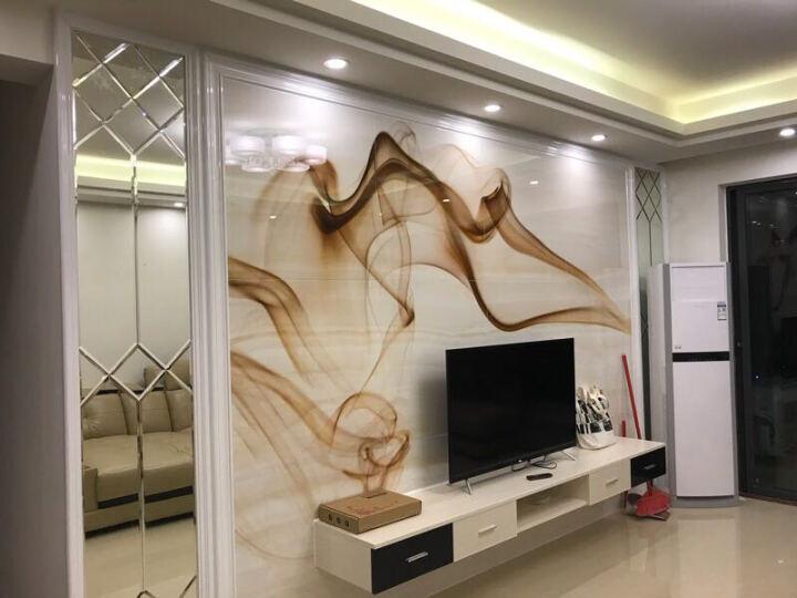 好帝陶瓷(HODI) 瓷砖背景墙现代简约 客厅高温微晶石影视墙电视墙面砖 飞扬 800x800mm 晒单图