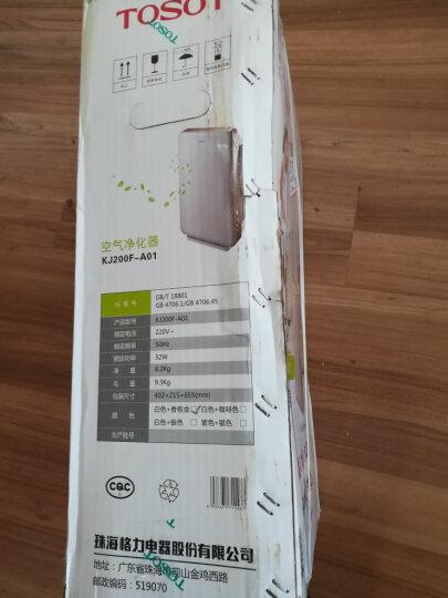 格力(GREE) 大松空气净化器家用除雾霾烟尘花粉PM2.5无耗材KJ200F-A01 晒单图
