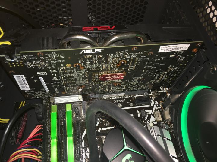 华硕(ASUS)GTX1060-O6G-GAMING 1569-1784MHz 6G/8GHz GDDR5 PCI-E3.0显卡 晒单图