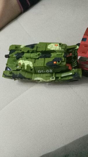 锦江 变形5 擎天大黄蜂恐龙 变形玩具模型 汽车机器人模型 男孩玩具 警车 晒单图