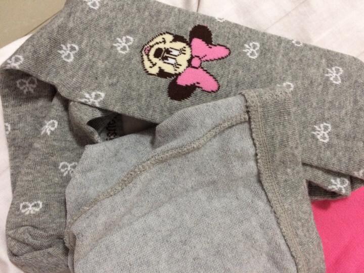 迪士尼儿童连裤袜 女童打底裤袜宝宝舞蹈袜子连体袜 A款 00182浅灰 130适合125-135cm 晒单图