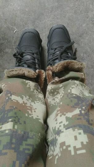 OEOVEAO/欧维欧 雪地靴男靴加绒保暖棉鞋 男士靴子男短靴军靴马丁靴男 901B黑色 40 晒单图