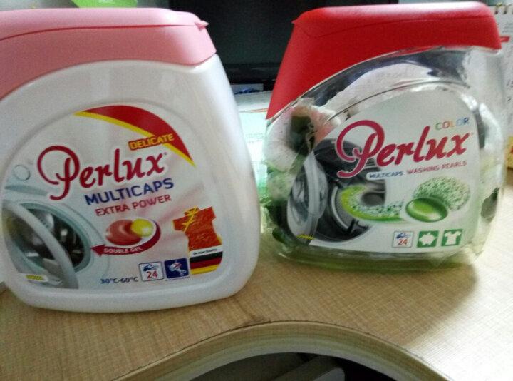 惊彩 洗衣凝珠 欧洲进口洗衣粉 机洗浓缩洗衣液 液粉结合多效合一去渍易漂 红色(多效) 一瓶装(内含24颗凝珠) 晒单图