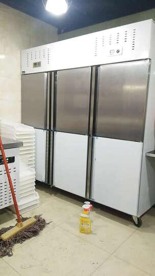 ?格盾(gedun) 双门四门商用冰柜 保鲜柜 冷冻柜 冷藏柜 可视立式冰箱 点击?选择(双门不锈钢门 全冷藏) 晒单图