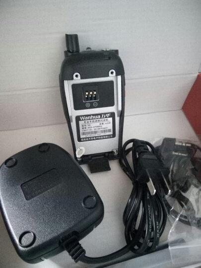 万华(Wanhua) S6专业手持对讲机迷你10民用大功率手台公里商用酒店工地自驾 (4台装)S6加强版 晒单图