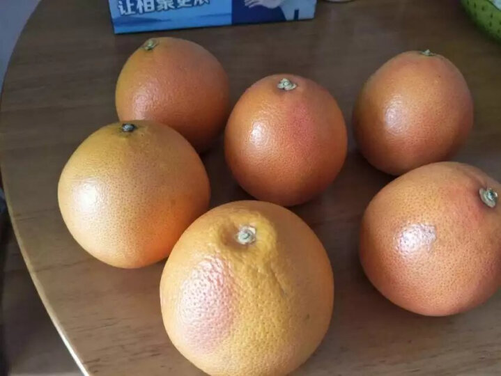 绿春元 南非进口红心西柚 6个 单果260-320g 新鲜水果葡萄柚 晒单图