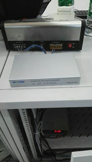 宇泰高科(utek) RS232/RS485转8口RS485集线器 串口转换器UT-1208 晒单图