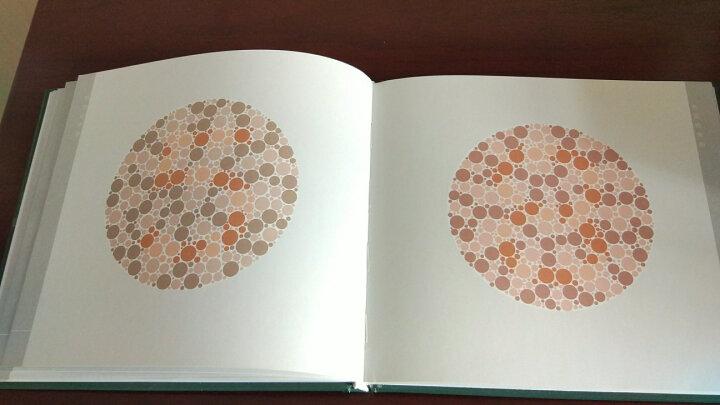 色觉检查图(第3版)第三版 驾照/体检色盲色弱测试检查检测图全套 色盲本辨色图谱测色盲的书 晒单图