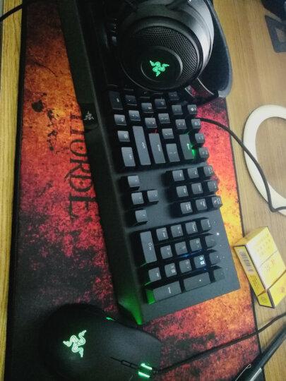 雷蛇(Razer)《守望先锋》黑寡妇蜘蛛幻彩版 机械键盘 绝地求生吃鸡键盘 晒单图