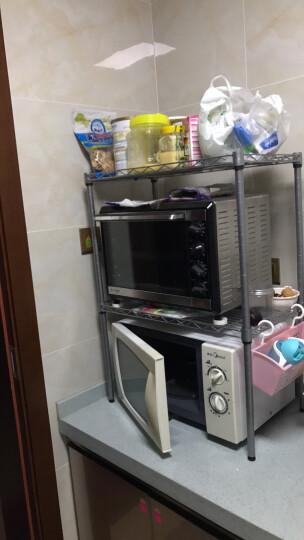 心家宜 金属三层储物架 置物架浴室 多功能收纳电器层架GX_5201S 晒单图