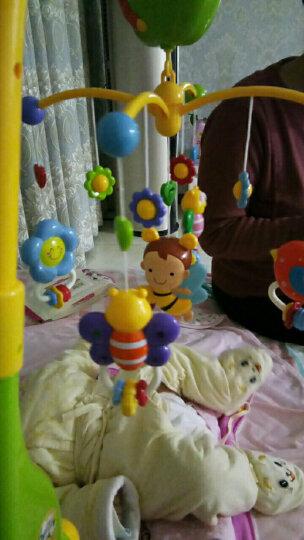 谷雨婴儿宝宝床铃风铃玩具0-1岁新生儿幼儿床头摇铃0-3-6-12个月玩具安抚助眠音乐旋转礼物 【可水煮曼哈顿球】+音乐床铃 晒单图