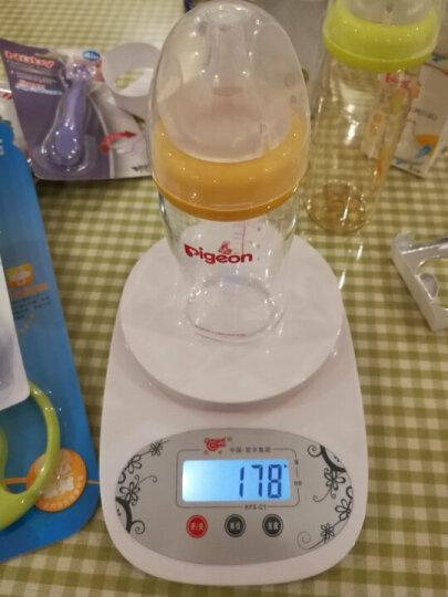 贝亲(Pigeon)AA161 Disney自然实感宽口径PPSU彩绘奶瓶240ml 配M奶嘴(维尼-气球) 晒单图