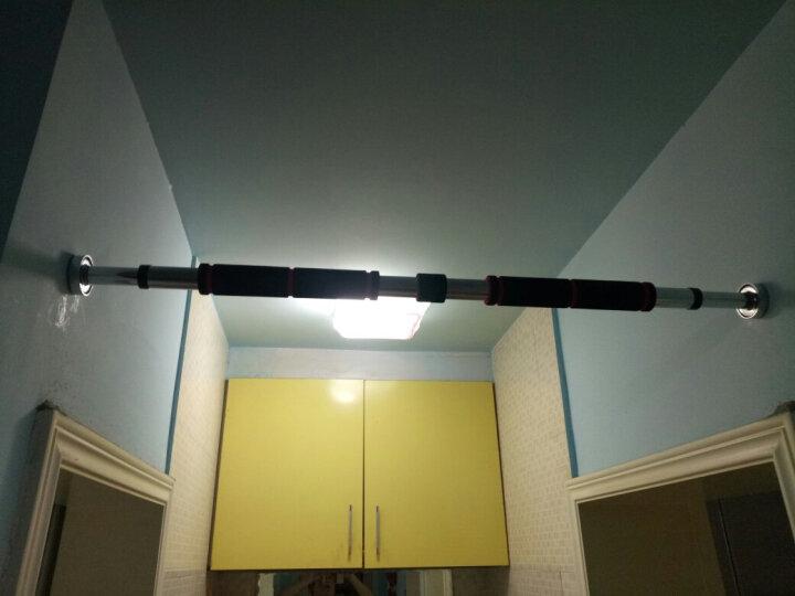 Ocim家用单杠 引体向上器室内单杠墙体门框健身器材门上单双杠 长款/83-130cm 晒单图