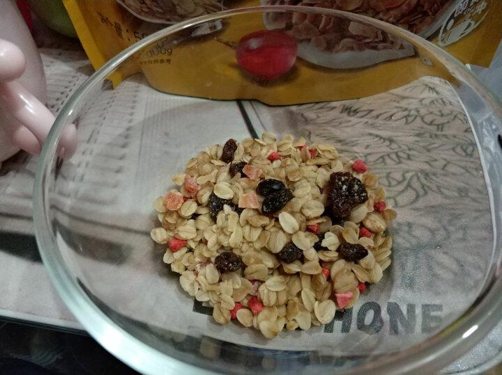 西麦 西澳阳光 谷物早餐 即食 冷冲烘焙水果燕麦片500g 非油炸非膨化(新老包装替换中) 晒单图