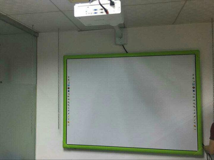 斯进科技 交互式红外电子白板多点智能互动触摸白板 教育培训一体智能电子白板 支持上门安装 82英寸灰色边(10点触控) 官方标配 晒单图