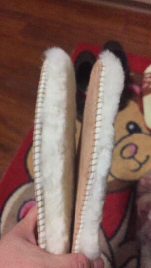 冬季羊毛鞋垫皮毛一体舒适柔软鞋垫加厚保暖男女雪地靴毛绒棉鞋垫头层猪皮防臭吸汗鞋垫 羊毛鞋垫(头层猪皮底垫) 41 晒单图