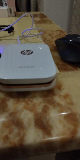 惠普(HP)小印Sprocket 100(白) 手机口袋照片打印机 自拍伴侣 蓝牙连接 移动随身打印 便携式打印机 晒单图