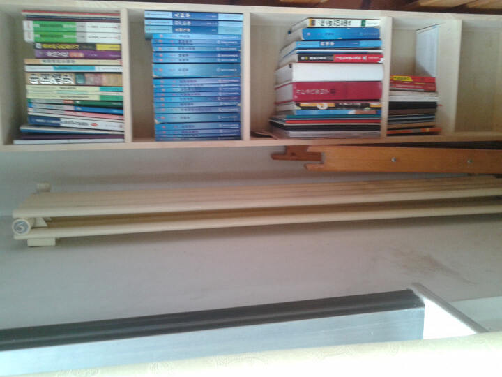麦芽 实木书柜 松木自由组合书架 超大容量1.8M书橱 简约时尚 落地储物置物架收纳地柜 松木B款60CM宽不带门 原木色无漆 晒单图