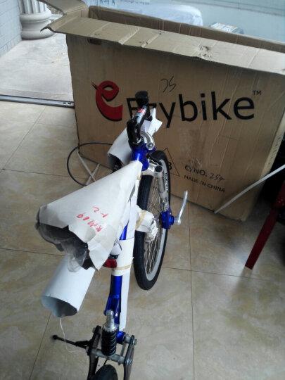 CoolPower 锂电池折叠迷你电动车 城市便携电瓶车自行车 代驾代步成人电动滑板车 48v黑色双人45-50公里 晒单图