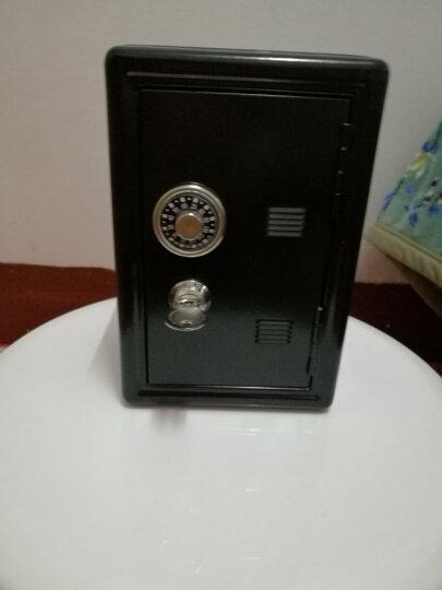 生日礼物 女生 迷你密码保险箱存钱罐 密码金属收纳盒首饰盒带锁 奶牛款 晒单图
