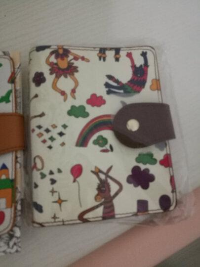 不莱玫 原创印花卡包可爱多卡位卡片包 巧克力 大版 晒单图