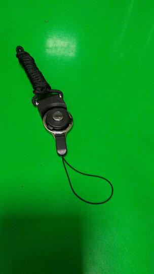 蔻司 手机挂绳 挂脖绳子手机壳挂链 胸牌工作牌挂绳男女款可旋转两用相机U盘钥匙扣 升级版 - 黑色【二段式挂绳】 晒单图