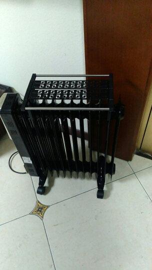 先锋 (Singfun)油汀取暖器家用电暖器电油丁暖风机办公室干衣加湿烘衣烤火炉卧室暖气片油酊电暖气 黑色 13片 宽125mm Z2 晒单图