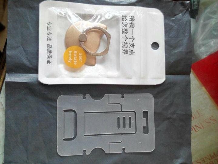 慕鸟【2个装】手机支架/懒人车载支架背贴式金属指环扣支架 通用手机壳苹果安卓iPad 猫型-流光银*2个装 晒单图