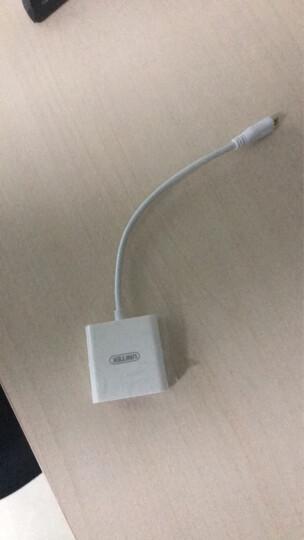 优越者(UNITEK)Micro HDMI转VGA转换器带音频 微型高清口转VGA转接器 平板相机接投影仪连接线Y-5322WH 晒单图