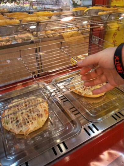 迪火 保温柜 商用食品台式展示柜家用保温箱蛋挞保温柜 三层(升级款)66*45*58cm 晒单图