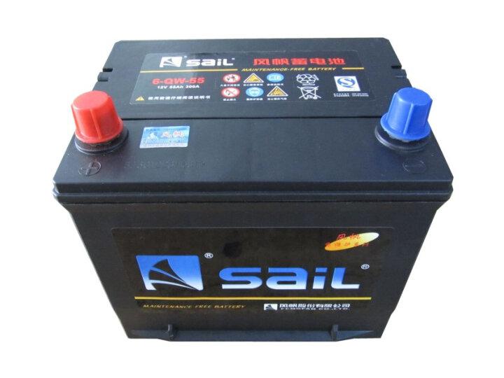 风帆(Sail)汽车电瓶蓄电池G120N-MF大型货车轻卡重卡大巴叉车工程机械12V以旧换新 晒单图