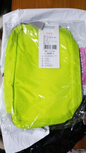 WELLHOUSE 洗漱包旅行男女化妆包收纳包折叠轻便旅游出差用品 迷彩玫红中号 晒单图