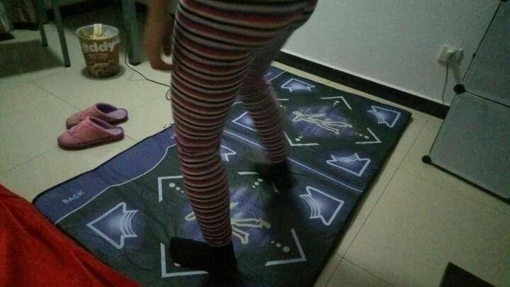 舞状元(wzy) 跳舞毯双人体感高清加厚游戏机跳舞机电视电脑两用 升级无线双人遥控版(PU毯+带按摩) 晒单图