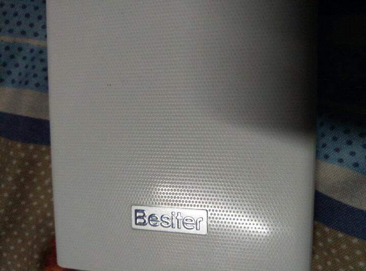 倍斯特(Besiter)20000毫安 双向快充移动电源 +18W充电头+2A数据线 高通QC3.0/华为FCP快充充电宝套装 晒单图