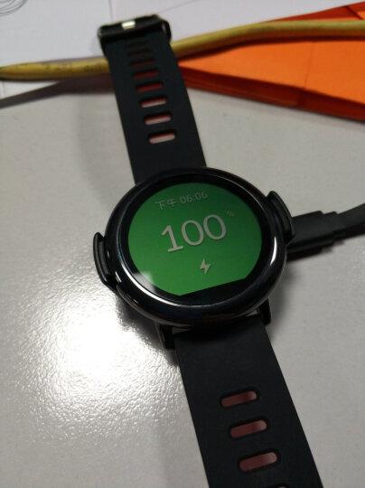 AMAZFIT 智能运动手表 华米科技出品 陶瓷表圈 GPS实时轨迹 黑色硅胶腕带 支持iOS、Android系统 晒单图