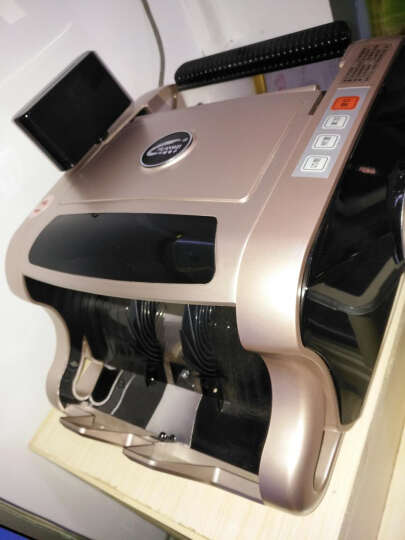 chuanwei川唯 小型便携式点钞机T16B银行专用 智能语音商用家用充电C类验钞机新版收银数钱机 B级 T16富贵金 晒单图