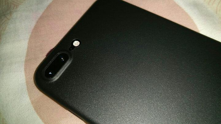 网易严选 网易智造 iPhone7/8手机壳 保护壳手机套全包防摔磨砂软壳男女 超薄0.4mm 黑 晒单图