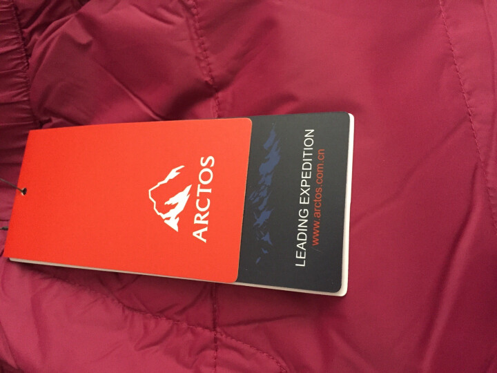 ARCTOS/极星户外 男女款羽绒长裤 情侣登山滑雪防风保暖裤 女-黑色 XL 晒单图