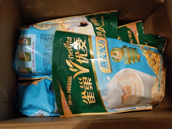 雀巢(Nestle)雀巢优麦燕麦麦片袋装500g 晒单图