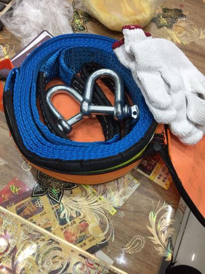 狼爪 汽车拖车绳8吨5米 反光条加厚牵引绳拉车绳越野车救援绳救援工具 晒单图