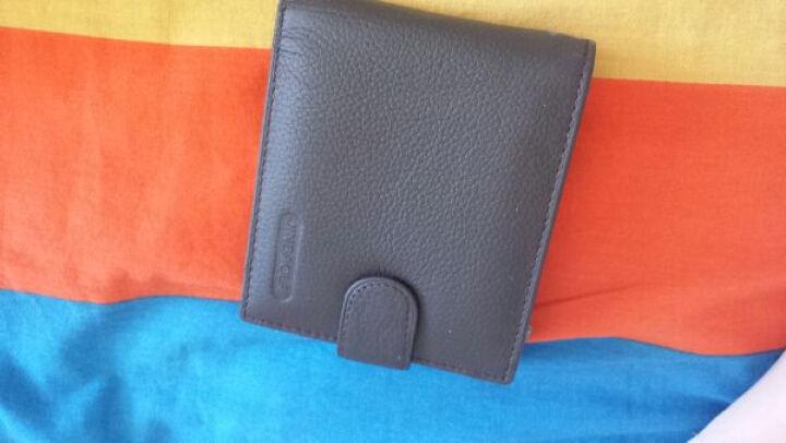 NABOWAN男士长款钱包商务男式手包休闲手拿包商务韩版皮包潮包 米黄色 晒单图