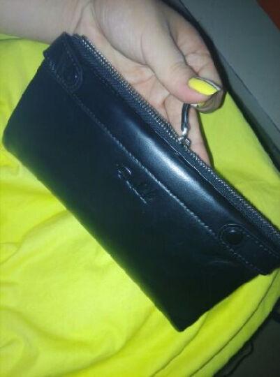 铂斯帝(BESDEL)新款钱包男士长款头层牛皮男款皮夹韩版时尚情侣钱夹多卡位卡包1032 土黄色1032 晒单图