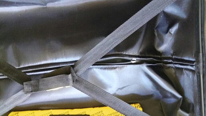 意大利明星款陨石箱 拉杆箱万向轮破损28旅行箱20寸 创意登机箱24仿旧 个性复古行李箱 红色 28寸 晒单图