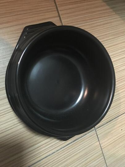 泥火匠 韩国石锅拌饭专用 陶瓷煲仔饭砂锅石锅鱼炖锅 3#石锅680ml 晒单图