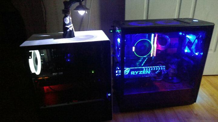 安钛克(Antec) 战虎A40 战斗版 CPU散热器 (支持锐龙AMD AM4平台/多平台散热器/风冷/四热管/LED蓝光风扇) 晒单图