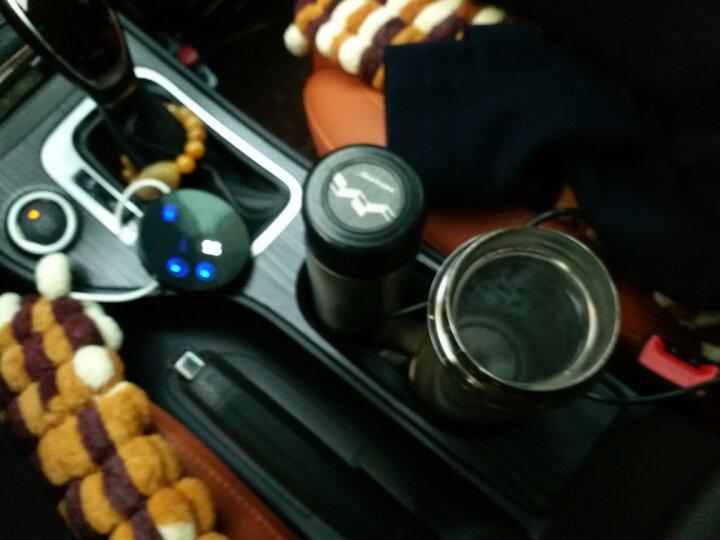 睿驰车载加热杯12V24V智能电热水杯汽车用电热烧水壶保温杯 赠送礼盒包装 晒单图