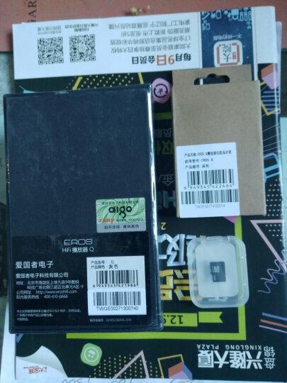 爱国者(aigo) mp3播放器M6 高清无损发烧HIFI DSD母带级专业便携随身听 32G大内存 灰色 晒单图