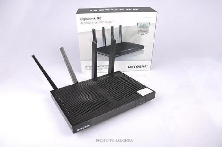 美国网件(NETGEAR) R8500 AC5300M小企业办公/三频千兆/低辐射/大户型/电竞手游智能wifi无线路由器 晒单图