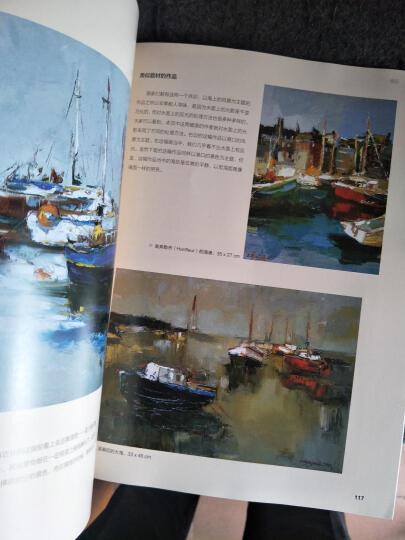 西方经典美术技法译丛:油画刀技法 晒单图